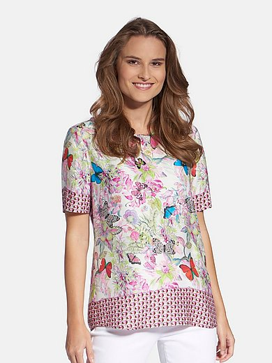 Basler - Blusen-Shirt mit Rundhals-Ausschnitt
