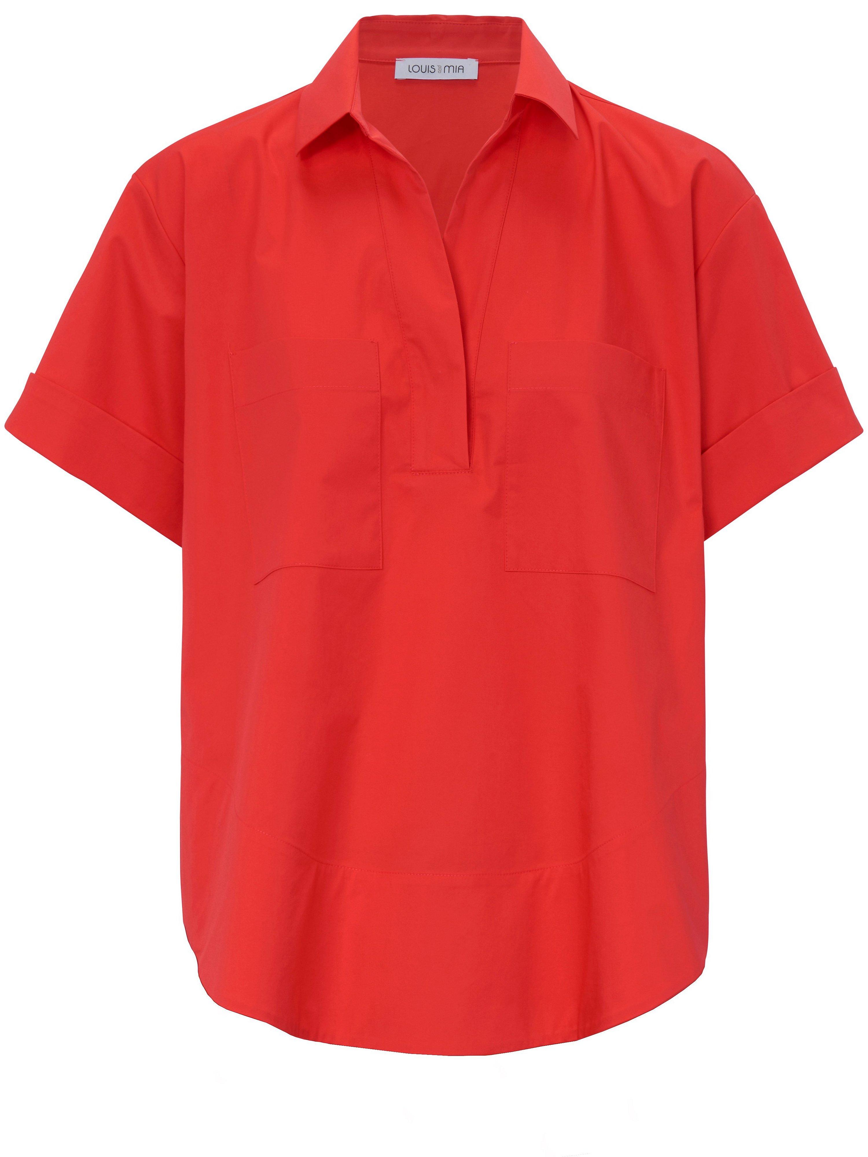 La blouse manches courtes  Louis and Mia rouge taille 40