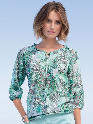 Betty Barclay - Blouse with 3/4-length sleeves