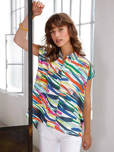Looxent - Ærmeløs skjorte med stribet print