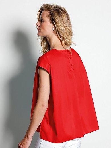 DAY.LIKE - Shirt met verbrede schouders en knoopsluiting
