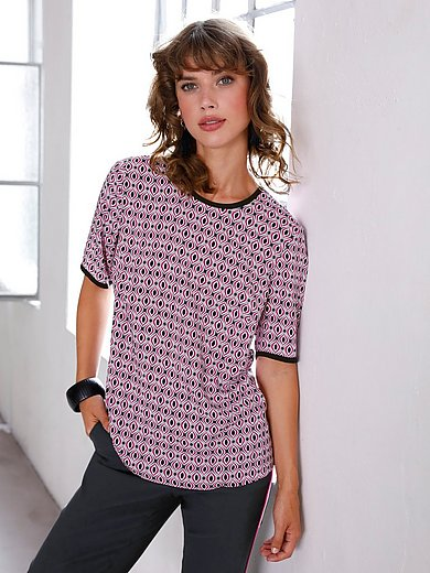 Looxent - Pull-on style top with graphic print
