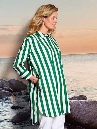 DAY.LIKE - Long blouse with 3/4-length sleeves