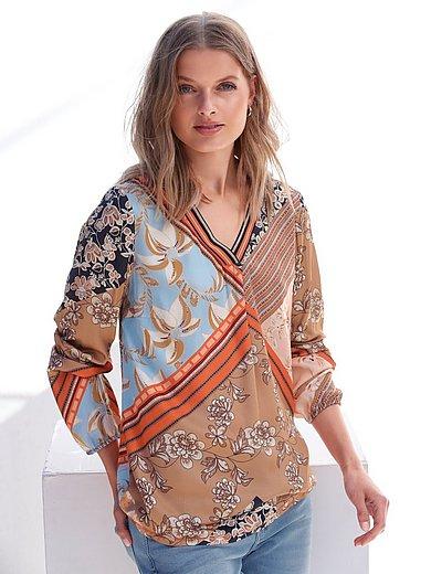 Betty Barclay - Skjorte med sjalsmønstret print