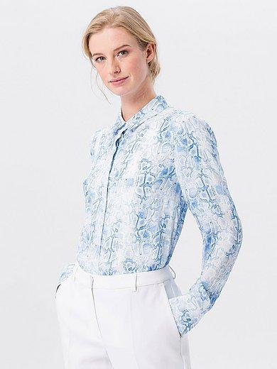 Uta Raasch - Long-Bluse mit Hemdkragen