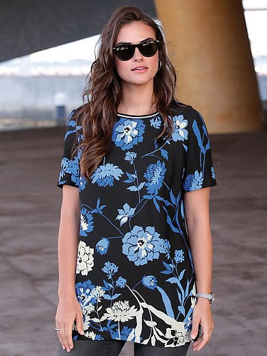 Emilia Lay - Lange blouse met korte mouwen