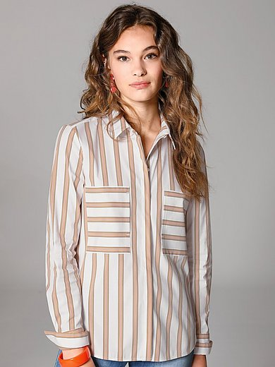 Louis and Mia - Striped shirt style blouse