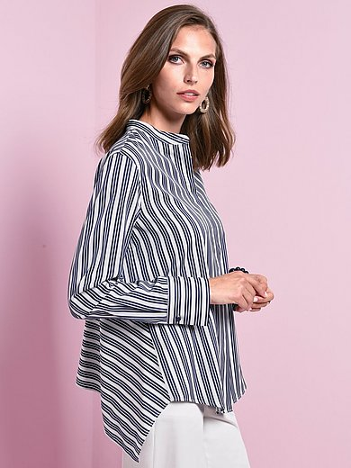 Windsor - Striped blouse with long sleeves