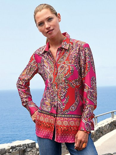 Schneiders Salzburg - Blouse with paisley print