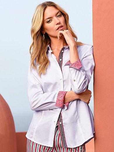 Schneiders Salzburg - Skjorte med paisleymønstret print i 100% bomuld