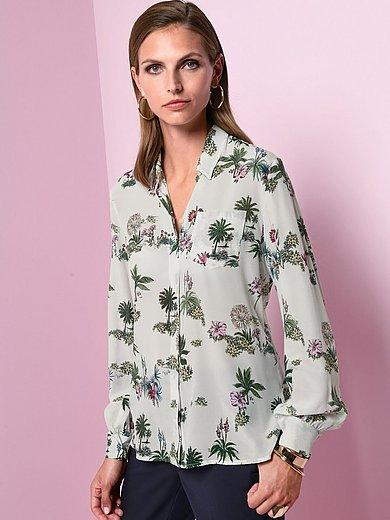 Marella - Blus med lång ärm i 100% silke