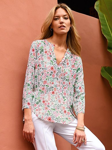 Riani - Pull-on style blouse with 3/4-length sleeves