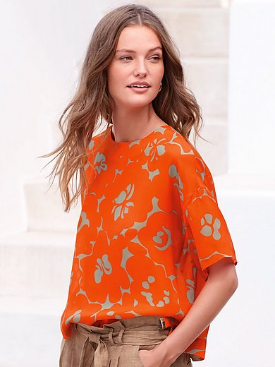 Louis and Mia - Top in pull-on style with drop shoulder