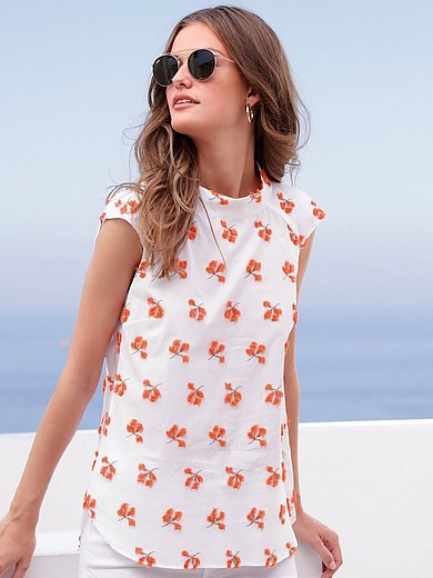 Louis and Mia - Top in 100% cotton with drop shoulder