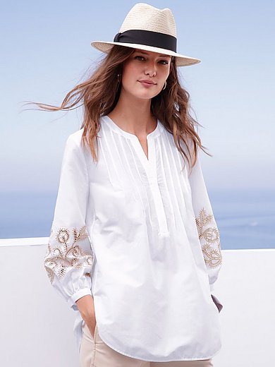 Louis and Mia - Tunic in 100% cotton with 3/4-length sleeves