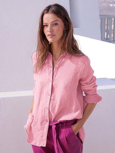 twenty six peers - Bluse mit Hemdkragen