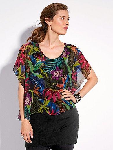 Doris Streich - 2-in-1-blouse met korte mouwen