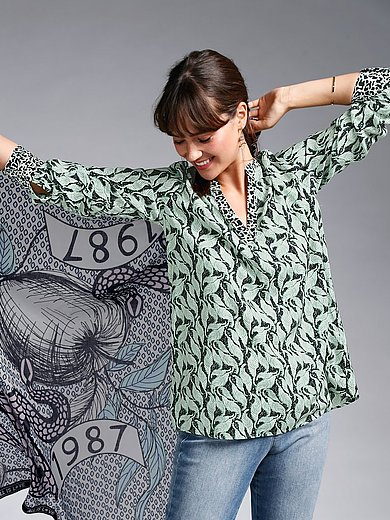 LIEBLINGSSTÜCK - La blouse à enfiler