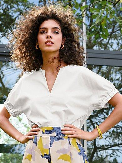 Lanius - La blouse à enfiler 100% coton
