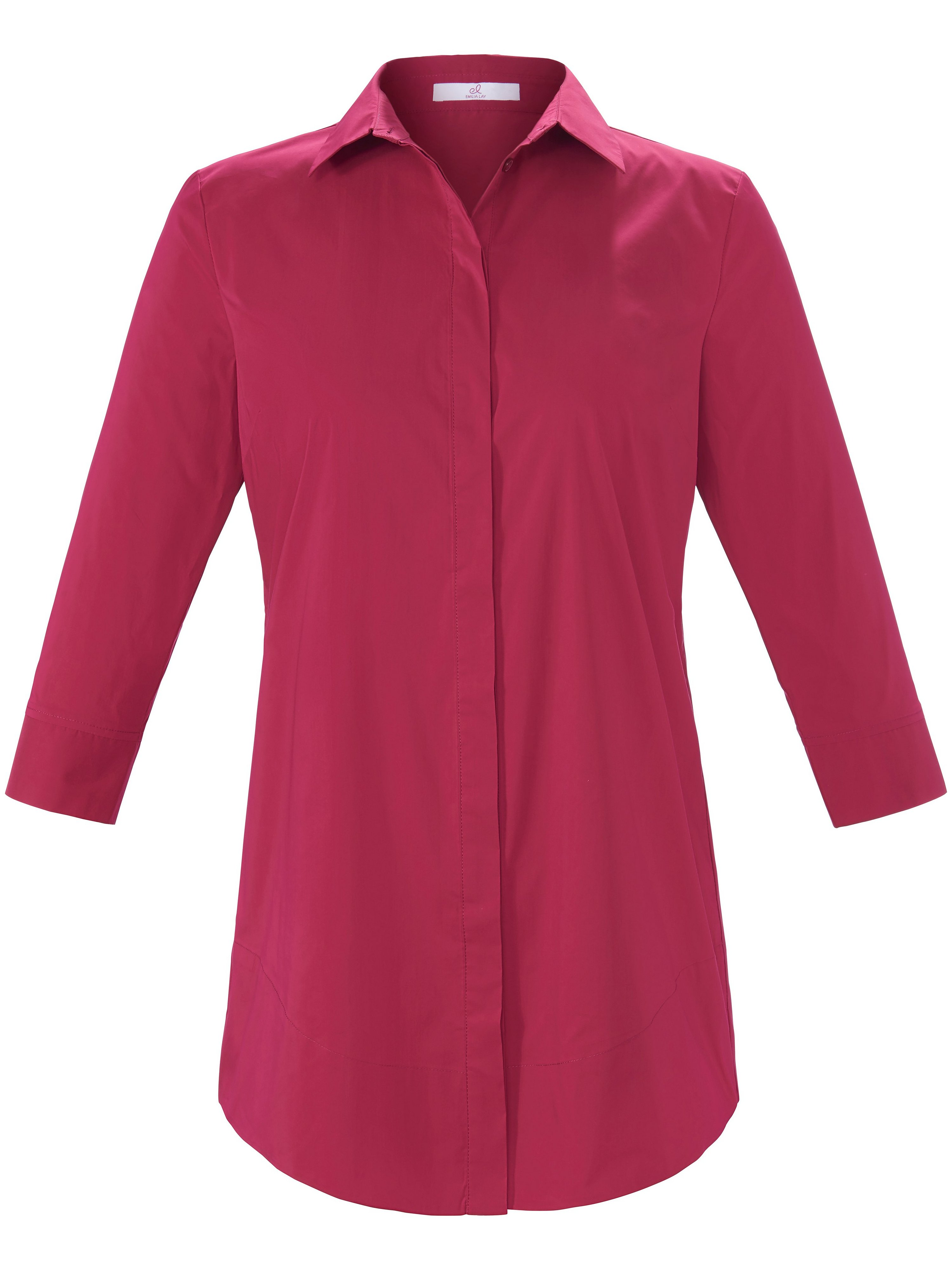Lange blouse 3/4-mouwe Van Emilia Lay roze