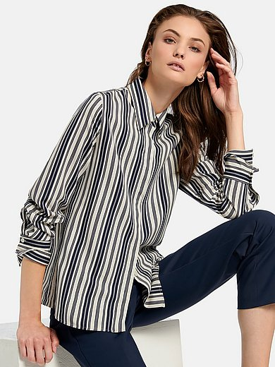 Fadenmeister Berlin - Skjorte med stribemønster