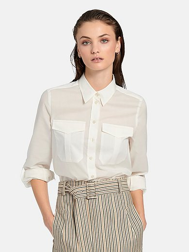 Fadenmeister Berlin - Blouse in cotton and silk blend