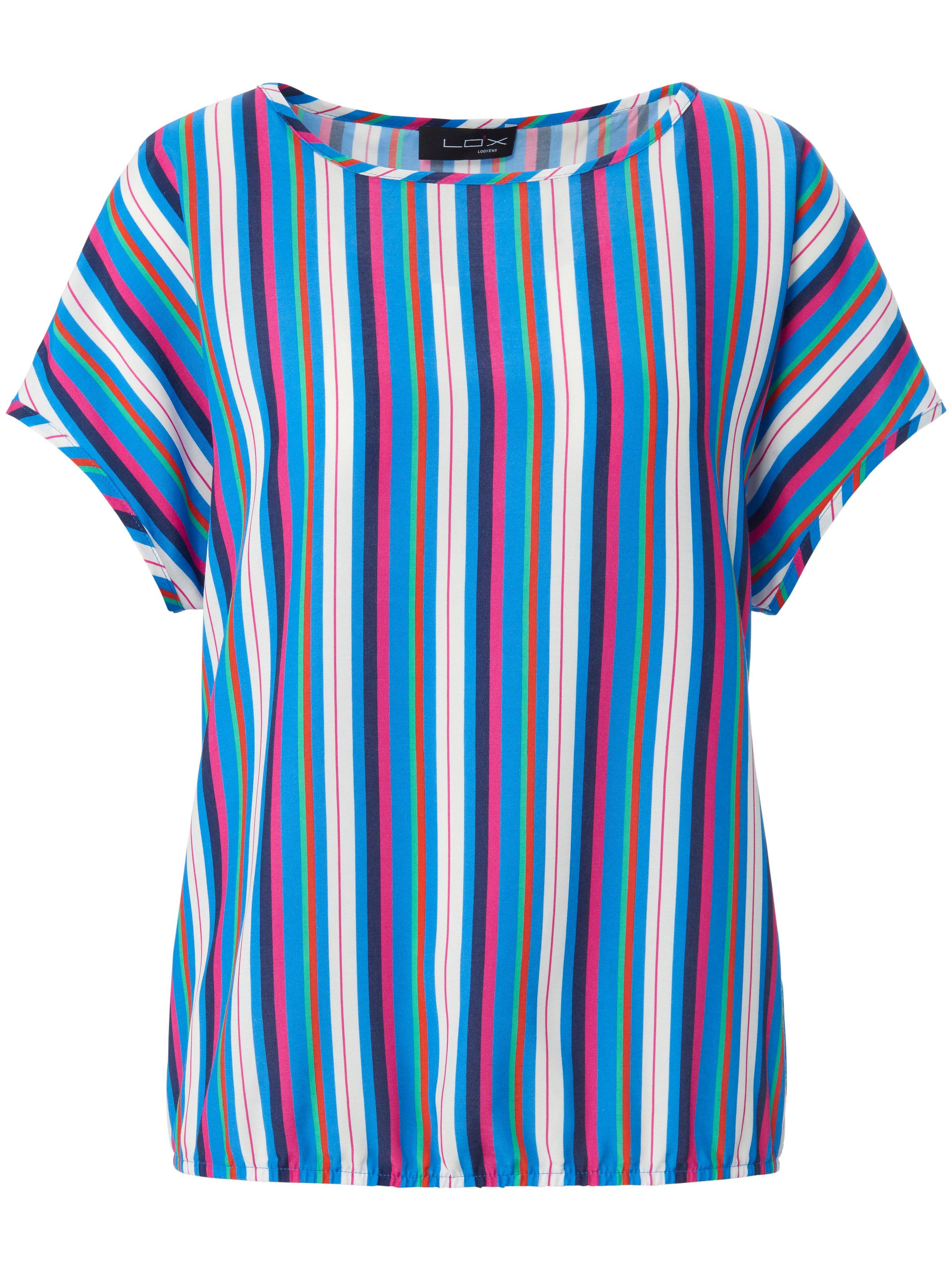 Shirt verlaagde schoudernaden Van Looxent blauw