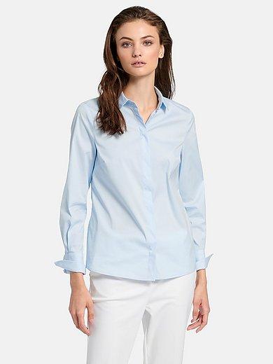 Fadenmeister Berlin - Bluse mit kleinem Hemdkragen