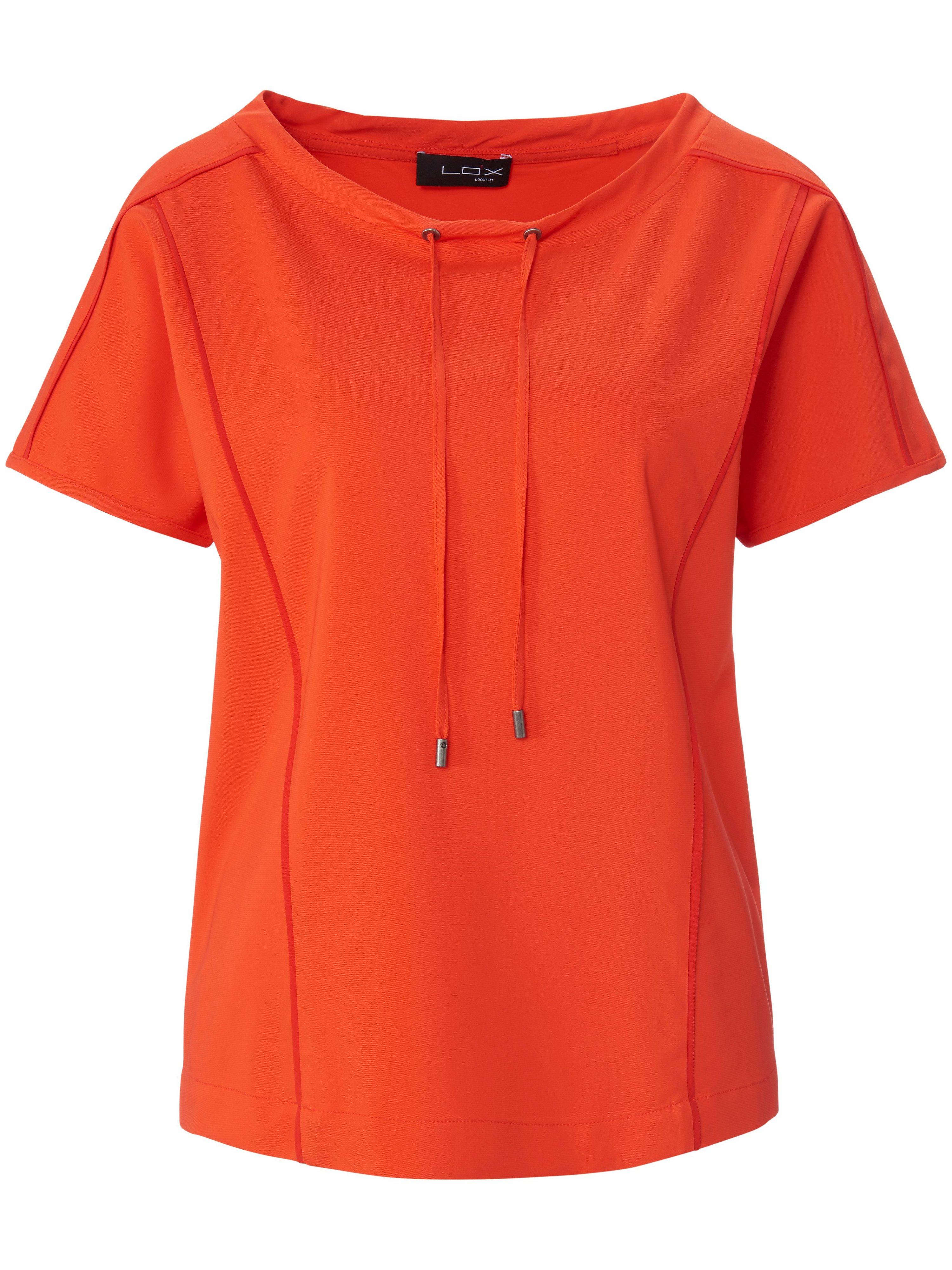 Shirt verlaagde schoudernaden Van Looxent oranje
