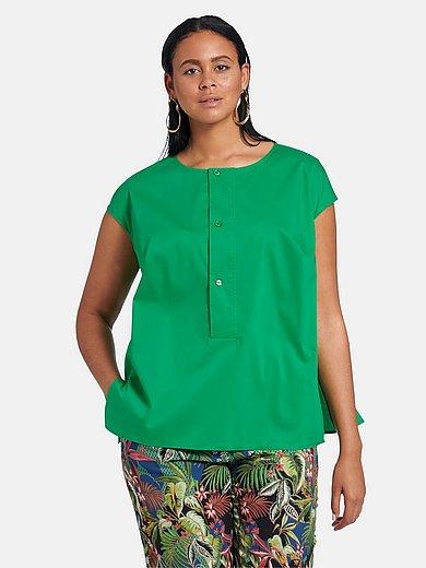 Emilia Lay - Bluse mit überschnittener Schulter