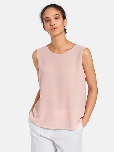 Peter Hahn - Top with round neckline