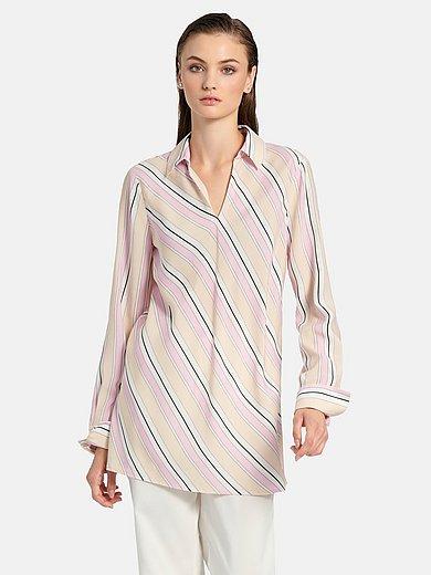 (THE MERCER) N.Y. - Longline blouse in 100% viscose