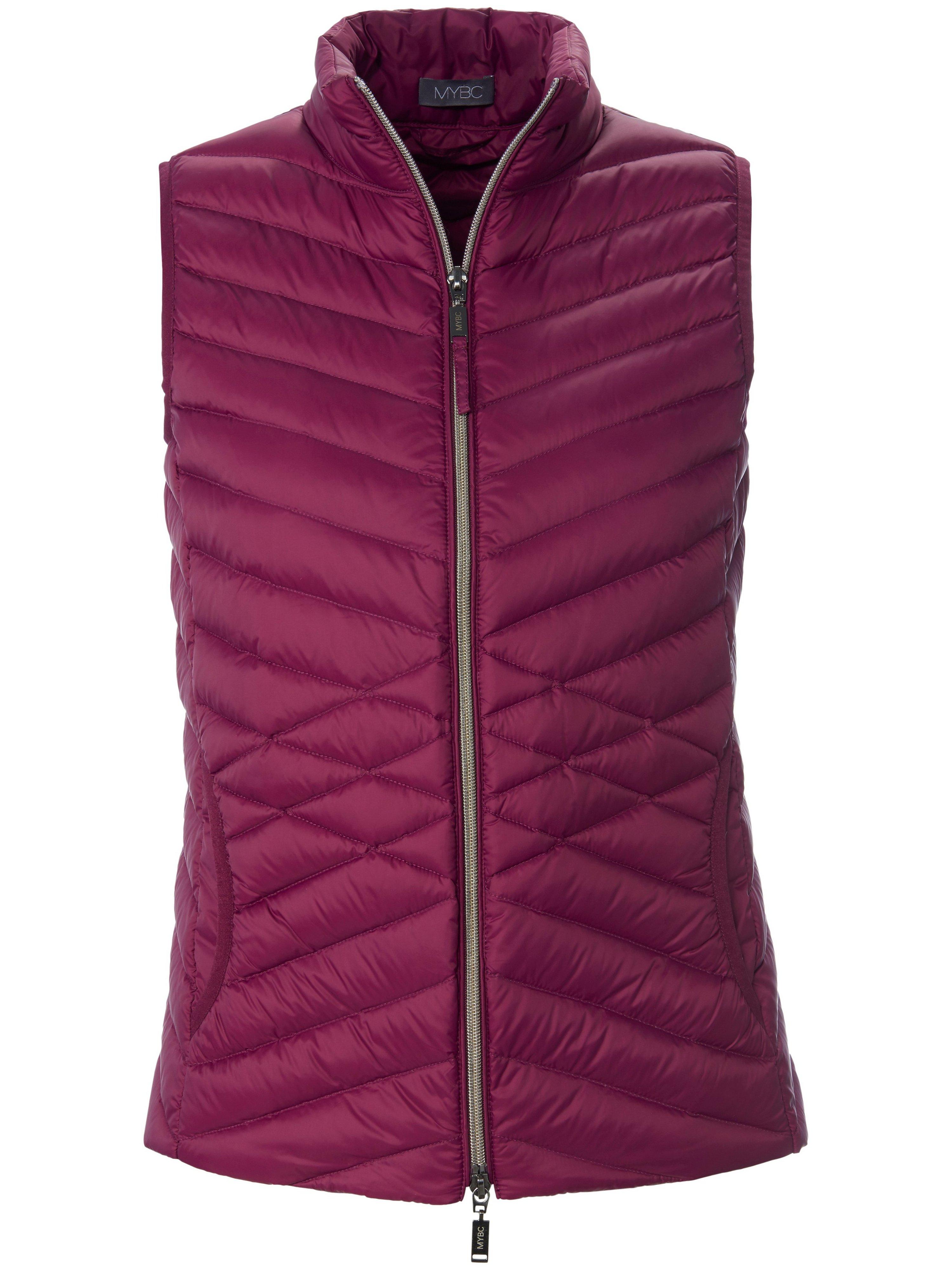Watté-bodywarmer staande kraag Van MYBC roze