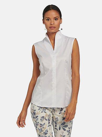 Eterna - Mouwloze blouse van 100% katoen