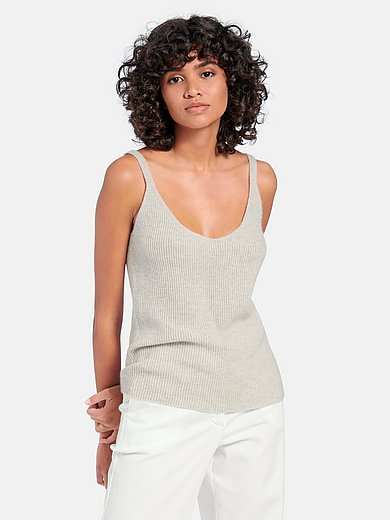 (THE MERCER) N.Y. - Knitted top in 100% cashmere