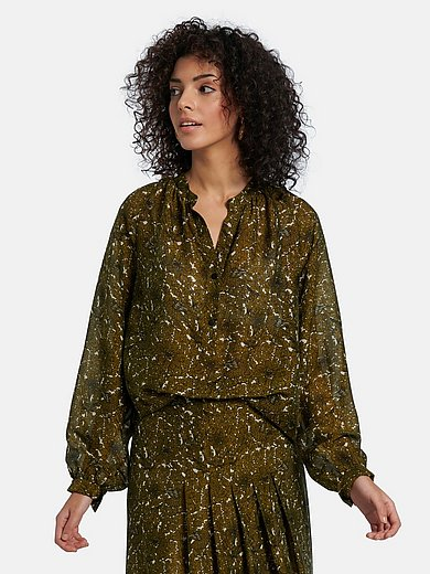 Windsor - Blouse in viscose and silk blend