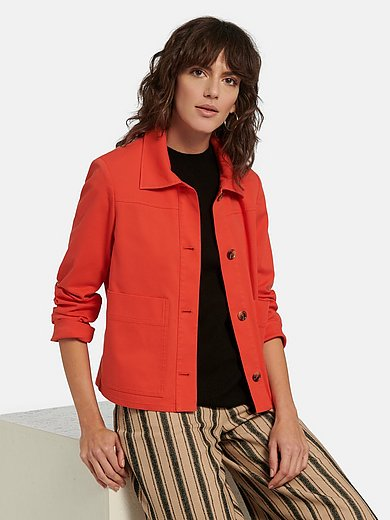 White Label - Jacket with shirt collar