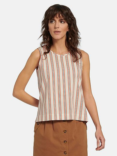 Peter Hahn - Striped tunic top