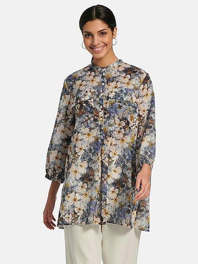 Margittes - Pull-on style blouse in 100% cotton