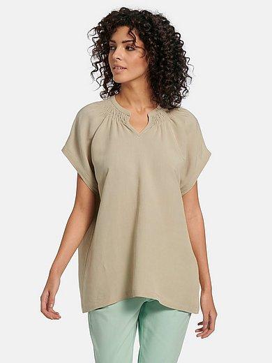 MYBC - Bluse mit überschnittener Schulter