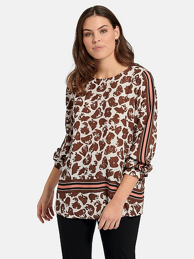 Samoon - Pull-on style blouse with long sleeves