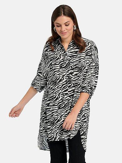 Samoon - Lange blouse met lange mouwen