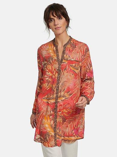 Betty Barclay - Lang skjortebluse med lange ærmer