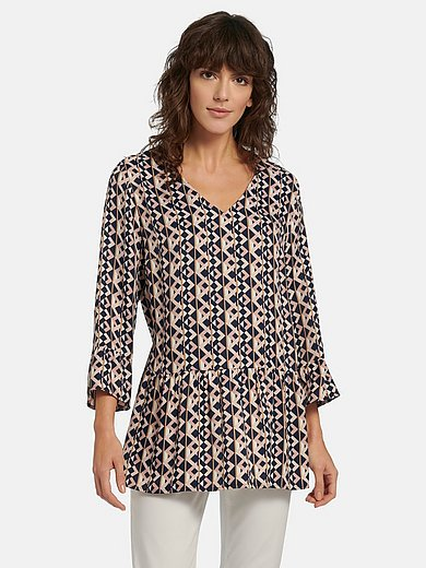 Betty Barclay - Pull-on style blouse with 3/4-length sleeves