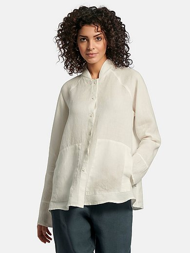elemente clemente - Blouse jacket in 100% linen