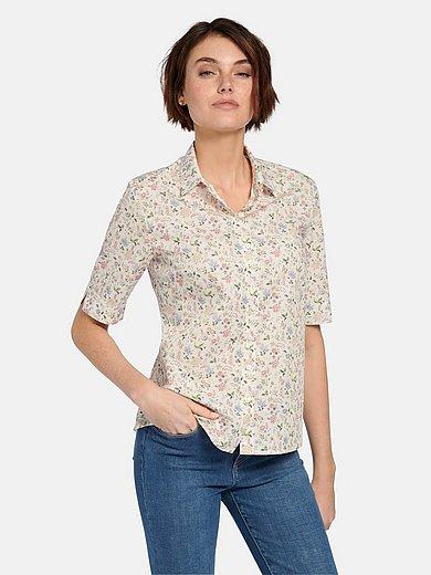Hammerschmid - Short-sleeved blouse in 100% cotton