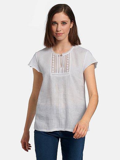 Hammerschmid - Blusen-Shirt zum Schlupfen aus 100% Leinen