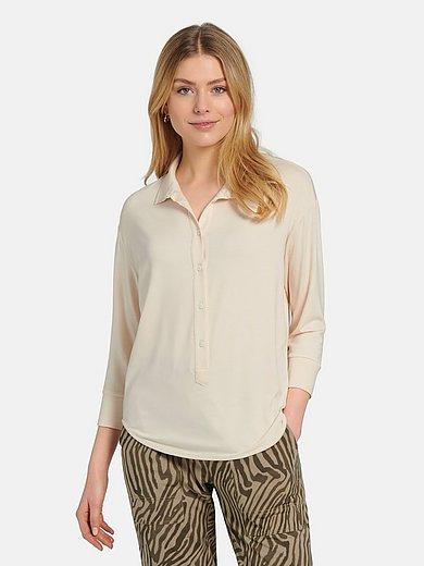 Margittes - Polo collar blouse