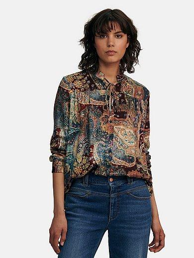 portray berlin - Bluse mit Stehkragen