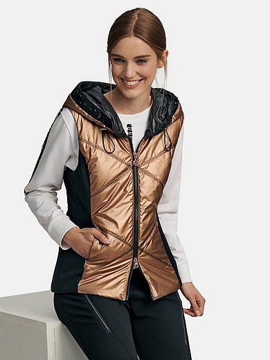 Sportalm Kitzbühel - Quilted waistcoat with hood